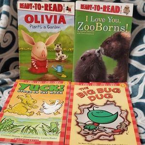 4 level 1 scholastic books
